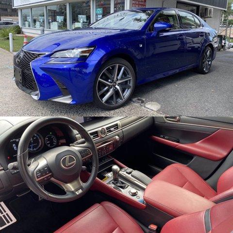 2017 Lexus GS 350 AWD F-Sport (Red Interi